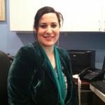 Erin Sussman, Receptionist